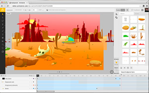 Animatron free web software for creating HTML5 animations and interactive content